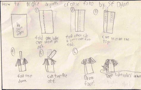 how to make origami kit fisto sf dyla s kit fisto origamiyoda