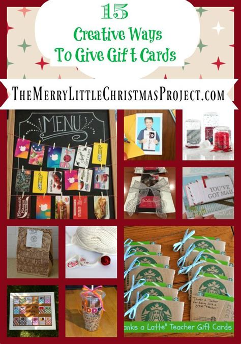 15 creative ways to give gift cards gift wrapping for