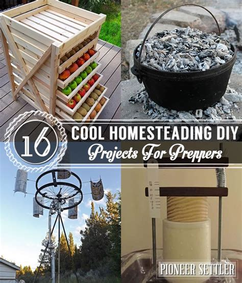 projects for 16 cool homesteading diy projects for preppers