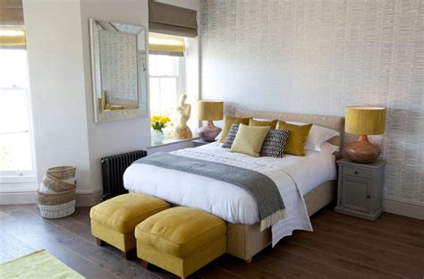 accessories for bedroom yellow and gray bedding that will make your bedroom pop