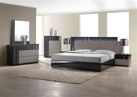 bedroom modern furniture modern bedroom set with led lighting system modern