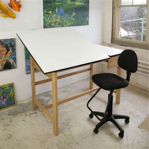 split drafting table split top drafting table alvin craftmaster iii split top