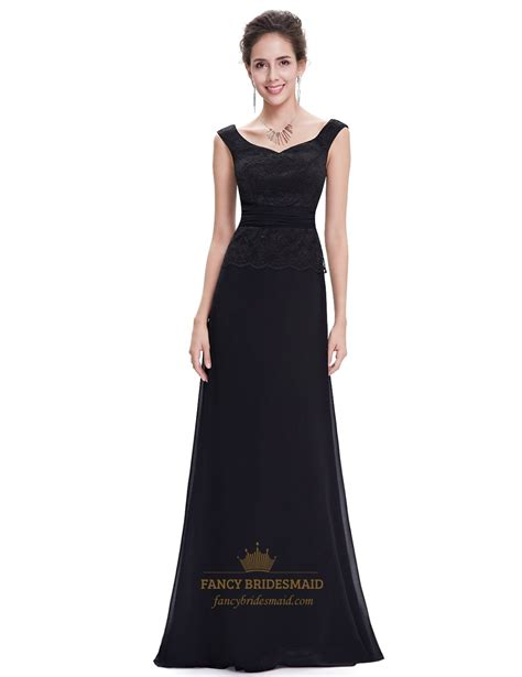 beaded bridesmaid dresses black chiffon bridesmaid dresses with beaded lace
