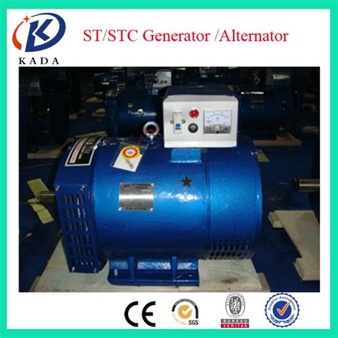 st generator st 12kw single phase brush 12kva generator 220v 50hz