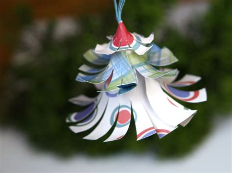 how to make ornaments out of make a colorful tree ornament