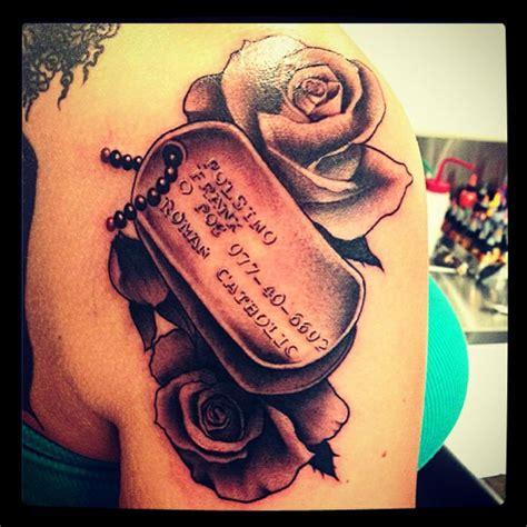 dog tag tattoo cute art pinterest dog tags tattoo