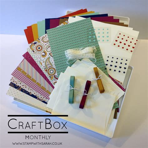 monthly craft boxes for craftbox is coming in september shop for stin up