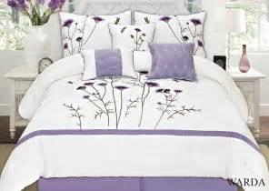 lavender comforters sets warda 7 embroidered comforter set colors lavender