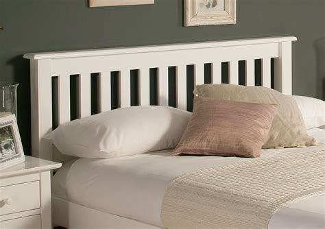 white wood headboards shaker white wooden bed frame lfe painted wood wooden