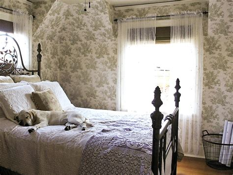 toile bedroom decorating with toile interior design styles and color