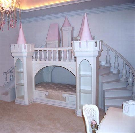 Girls Blue Bedroom Ideas indoor fairy tales beds shaped like castles for young