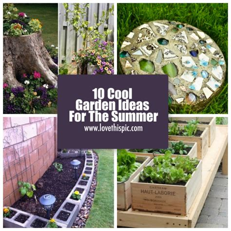 summer garden ideas 10 cool garden ideas for the summer