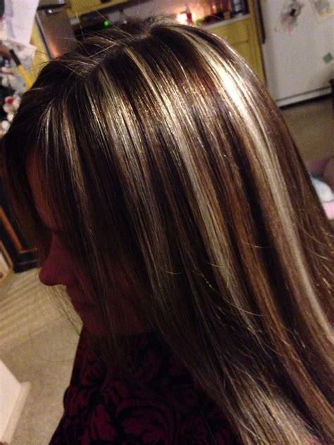 hair styles foil colours high contrasting color foils hair cute hair styles