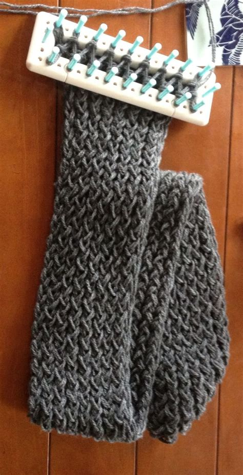 scarf knitting loom 17 best ideas about loom knitting scarf on