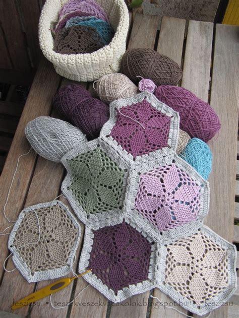 hexagon knitting pattern free 115 best crochet hexagon images on crochet