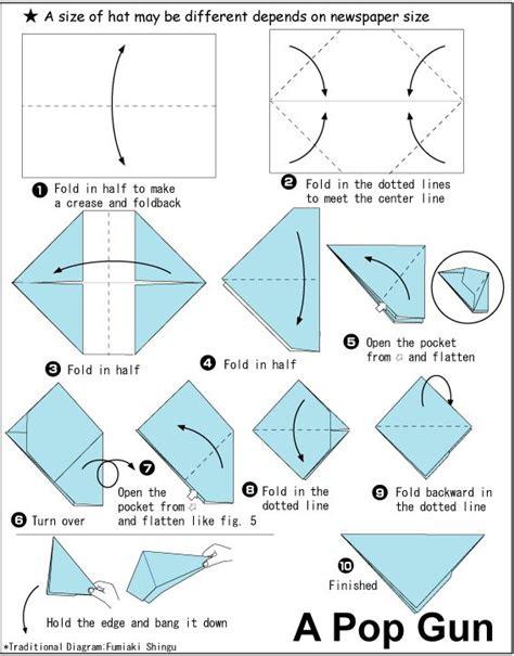 origami banger origami pop gun cub scouts