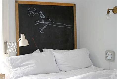 diy chalkboard headboard chalkboard paint ideas for a blast of blackboard d 233 cor