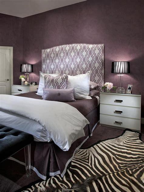 purple and silver bedroom designs contemporary purple bedroom with zebra print rug hgtv