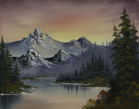 bob ross paintings mountains bob ross bob ross
