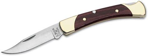 buck kitchen knives buck 055 the 55 folding 2 3 8 quot blade woodgrain handles knifecenter 5684