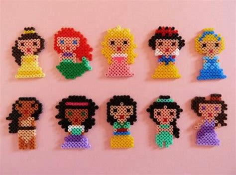 perler disney hama perler disney princesses for
