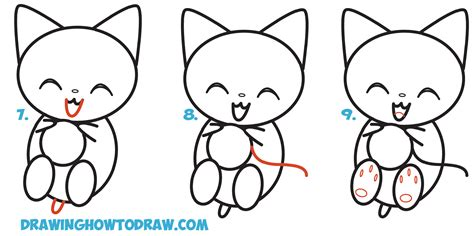cat step by step how to draw a cat in easy steps 28 images how to draw