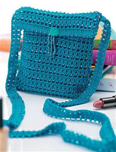 crochet beaded bag pattern aurelia free crochet beaded bag pattern from letsknit