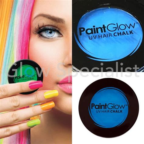 chalk paint your hair paintglow neon hair chalk glow specialist glow specialist