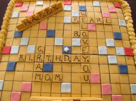 scrabble gram puzzles gram s scrabble cake by the cupcake in