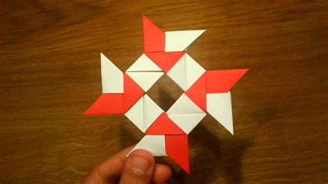 paper shuriken origami how to make a paper 8 pointed origami