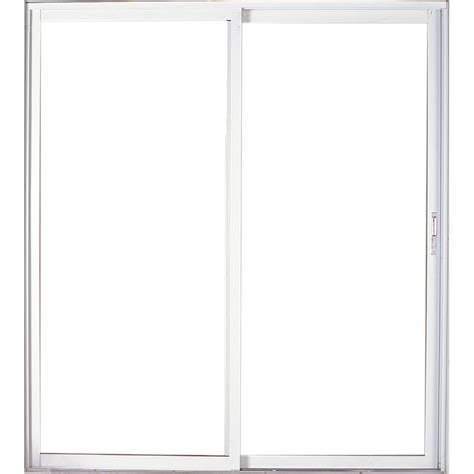 patio sliding glass doors lowes shop west palm 72 in clear glass aluminum sliding patio door with screen at lowes