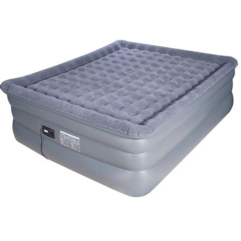 airtek deluxe comfort coil king size raised pillowtop air