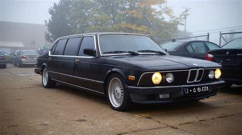 2008 Bmw 745i by Arrive In Style In This 1985 Bmw 745i Limo The Drive