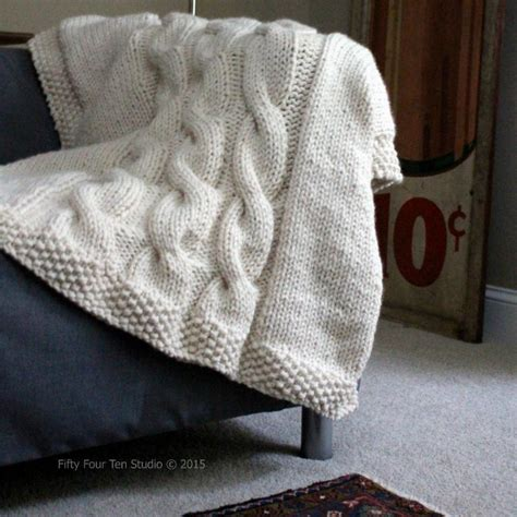 studio knit quot like a sweater quot blanket by 5410studio craftsy