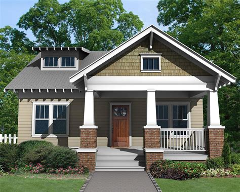 plans for houses charming craftsman bungalow with front porch 50103ph architectural designs house plans