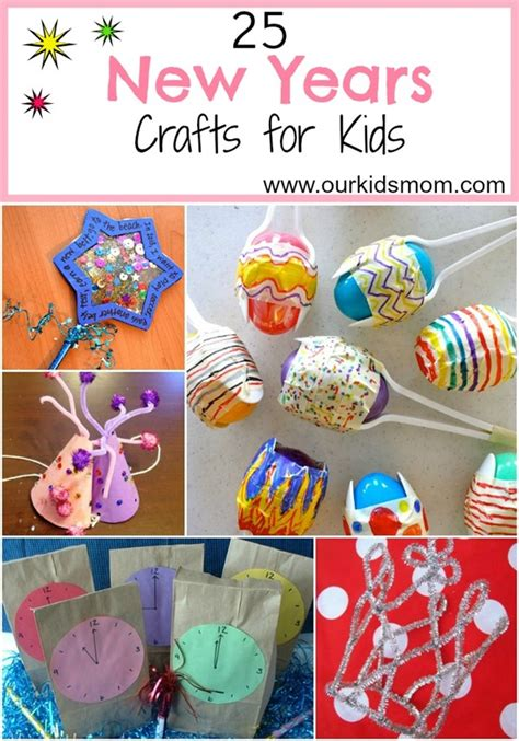 new year crafts for 25 new years crafts for
