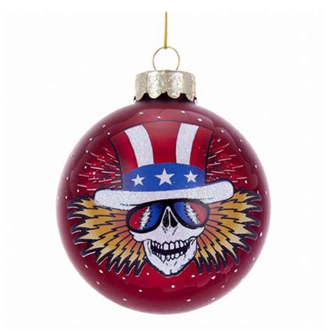 grateful dead ornaments grateful dead 4 1 4 inch glass ornament kurt s