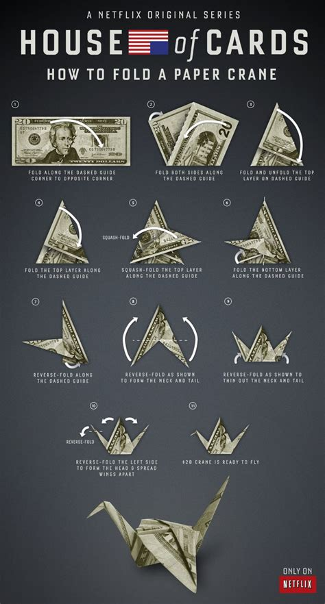 dollar origami crane how to fold a paper crane just like underwood