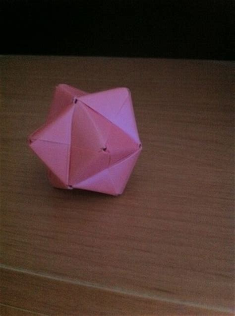 stellated octahedron origami origami images sonobe stellated octahedron hd wallpaper