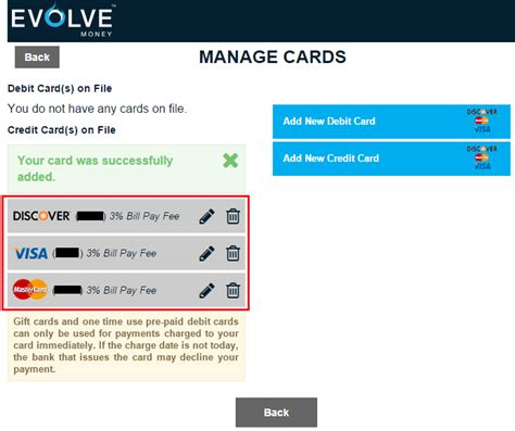 how to make money with credit card evolve money update pay all bills with visa mastercard