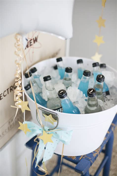 Crazy Home Decor moon and stars birthday party a beautiful mess