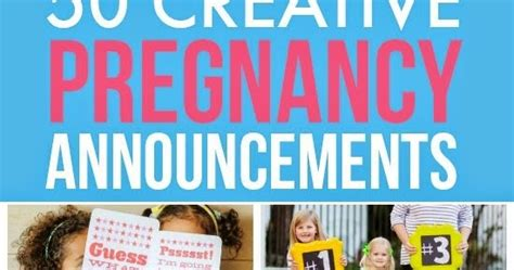 pregnancy crafts projects 50 creative pregnancy announcements diy craft projects