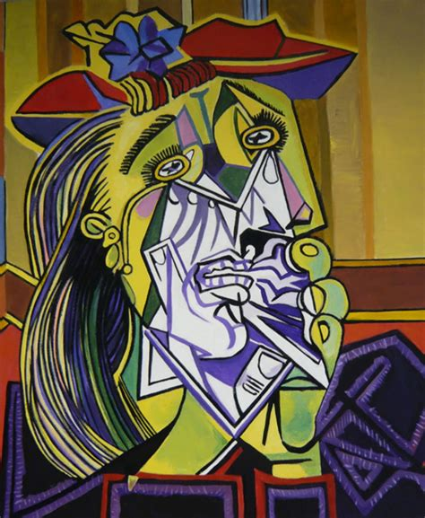 picasso paintings the weeping weeping by deej