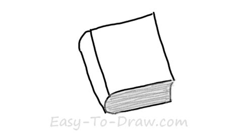 how to draw a picture of a book how to draw a book with hardcover for 187 easy