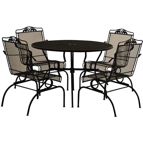 walmart patio table and chairs delahey patio furniture