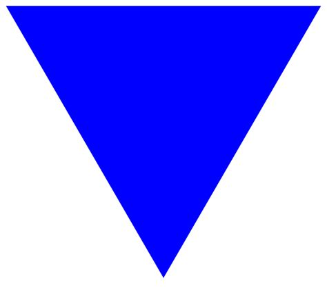 triangle blue file blue triangle svg wikimedia commons