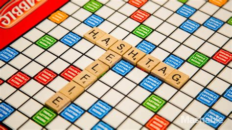 is fa a word in scrabble scrabble adds selfie hashtag to official dictionary