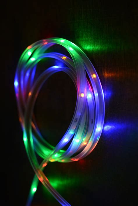 led light multicolor 18ft 108ct