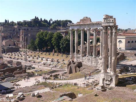 que era el foro romano roma el foro romano el palatino y los foros imperiales
