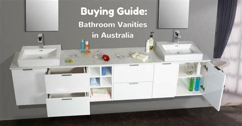bathroom vanities au buying guide baathroom vanities in australia vista